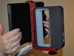 Mounting bracket for Sense Scanner and Surface Pro 2