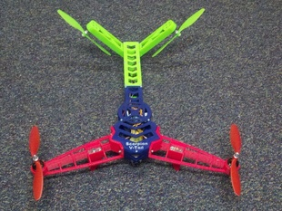 Sorpion V-Tail Quadcopter new lighter parts.