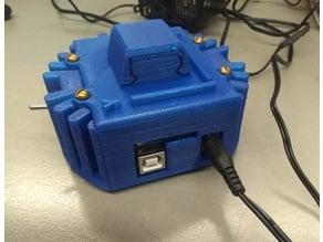 arduino + adafruit data logger + mpu6050