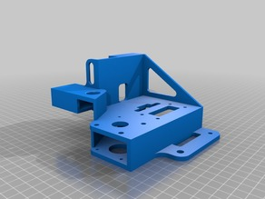 X-Z bar upgrade / cable chain mounts / designed for dual Z Axis