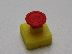 "Emergency Stop ""Mushroom"" Push Button"