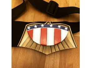 Judge Dredd Belt Buckle