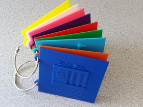 Norton Middle School DEAR ZOO Tactile Picture Book