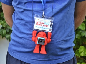 Maker Faire Robot Polaroid Cube