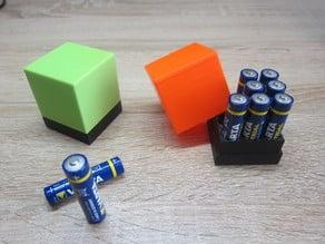 """Battery Holder """"Power Cube"""""""
