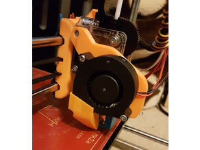 Geeetech Pro B Fan Mount for Titan Extruder and V6 Hot End