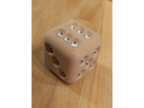 parametric dice with googly eyes