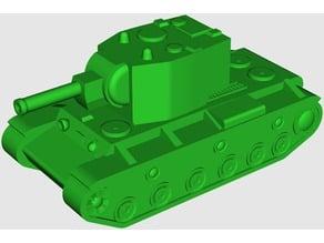 KV-2 Heavy Tank (4 cm model)
