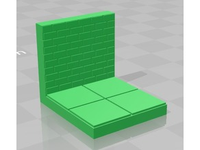 RPG Dungeon Tile 2x2 With Wall (EP Tiles)