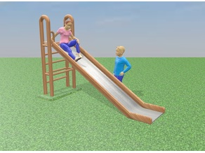 Slide scaled for Sylvanian Families or Playmobil