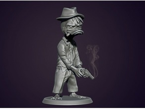 Howard the Duck (Duck detective with a gun)