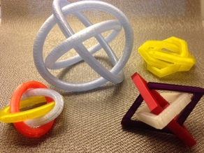 Borromean rings collection