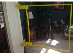Open Door Hanger for Quad Racing Gate