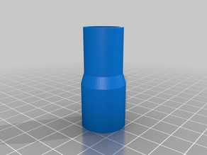 My Customized Planer-to-Shop-Vac Adapter