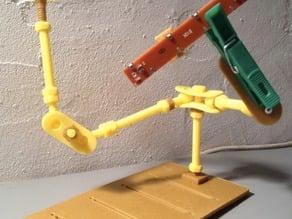 Multi Boot - Articulator - pin / supports / Note / etc.. / pinza / aguanta / Nota etc..