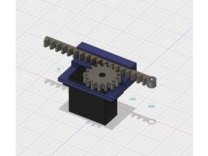 MG995 Servo linear actuator