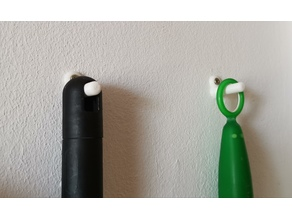 wallmount for brooms