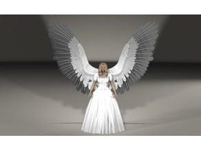 """Ginny"" Angel Tree Topper"
