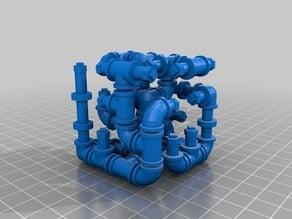 A plumber's maze