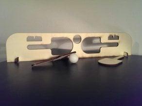 lasercut Ping Pong set