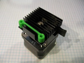 i3 / MK10 Extruder Cooling Fan Spacer in One Piece