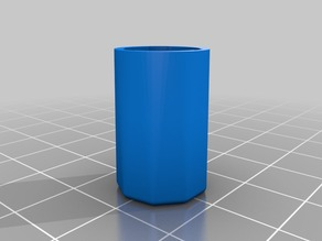 Container for a 0.35mm drill bit