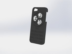B&E Iphone 5 case with working gears