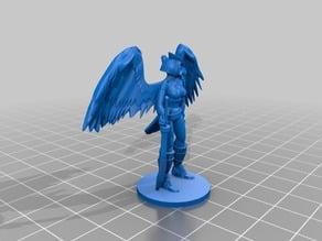 Thena - Owlfolk Rogue - Dungeons & Dragons mini