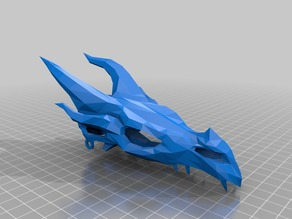 Dragon Skull from Skyrim - Articulated