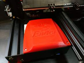 Beatliner's Ender 3 Fan Cover with Ender Logo