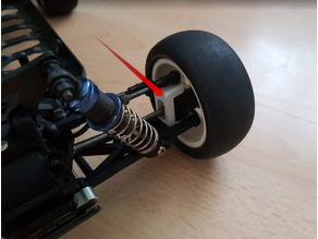 KYOSHO LAZER ZX-5 - Knuckle and Hub Carrier