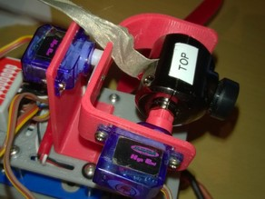 2 Axis (pitch and roll) GImbal for Horizon HD1080p and Hovership
