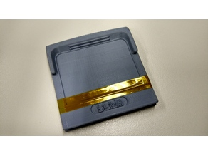 SEGA game gear cartridge case
