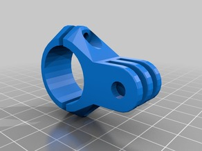 My Customized GoPro  mounts, and a library to expand 22mm