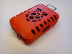 raspberry Tinkercad Case