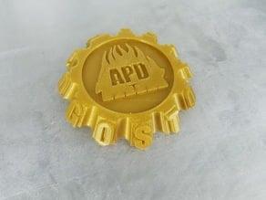 A Pyro Design Maker Coin