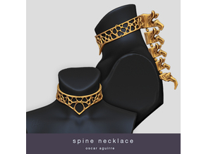Spine Necklace By Oscar