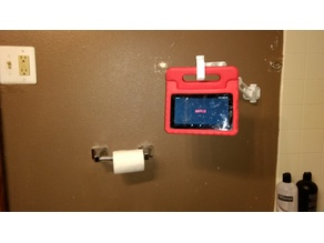 wall mounted articulating arm Tablet Hook