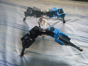 AT-AS quadruped (or hexapod) robot