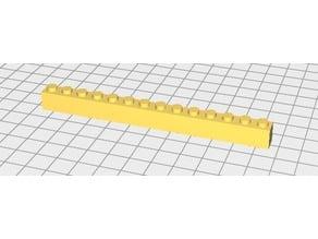 lego brique 1X14