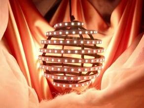 Spiral-Sphere for LEDs