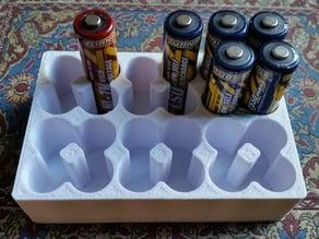 AA Battery Holder (24 batteries)