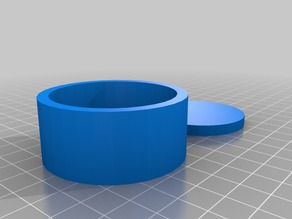 56mm X 48mm round project box