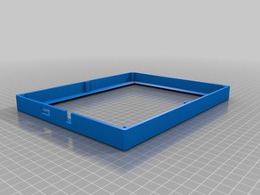 Enclosure for Adafruit Qualia Retina LCD Monitor