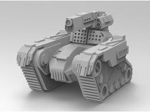 Battletech Ares Medium Tank