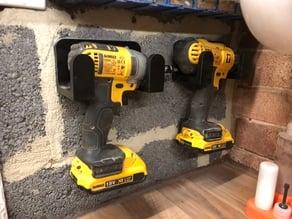 Dewalt 18v XR Drill Wall Mount