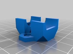 LM8UU bushing with 20mm spacing holes for Prusa i3 carriage