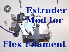 3Drag / k8200 Extruder Flex Filament mod