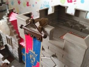Playmobil Fahnenhalter Ersatz - flag holder replacement