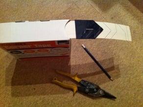 Plasterers scrim tape corner marker